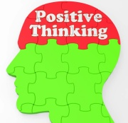 Positive Thinking Mind Showing Optimism Or Belief