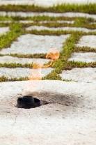 eternal flame, jfk, arlington.