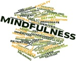 Word cloud for Mindfulness