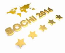 3d word SOCHI 2014